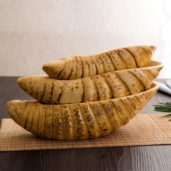 Natural Bamboo Fruit Plate