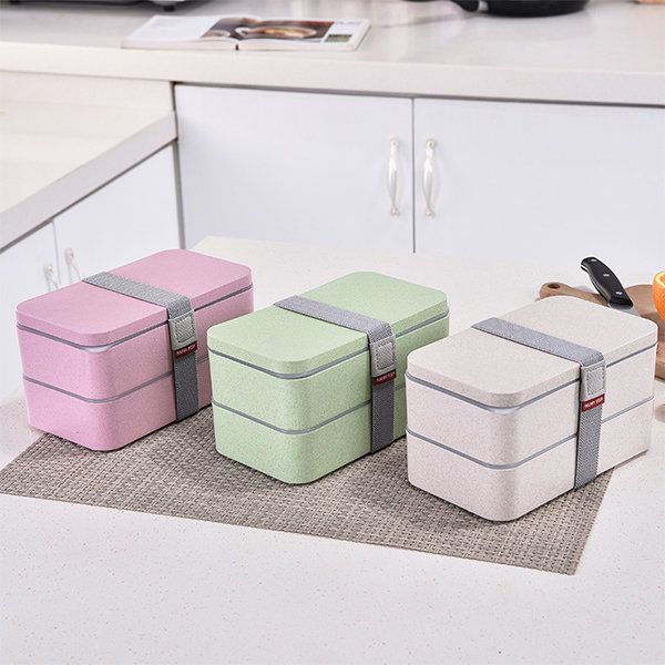 Double Layered Lunch Box