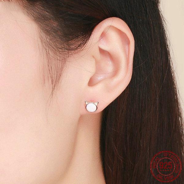 Cute Cat Ears Earrings Apollobox