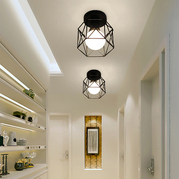 Morden Cage Ceiling Lamp