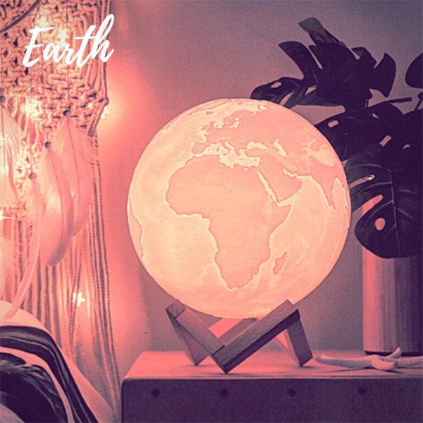 Gentle 3D Earth Light