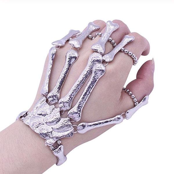 Skeleton Hand Finger Bracelet