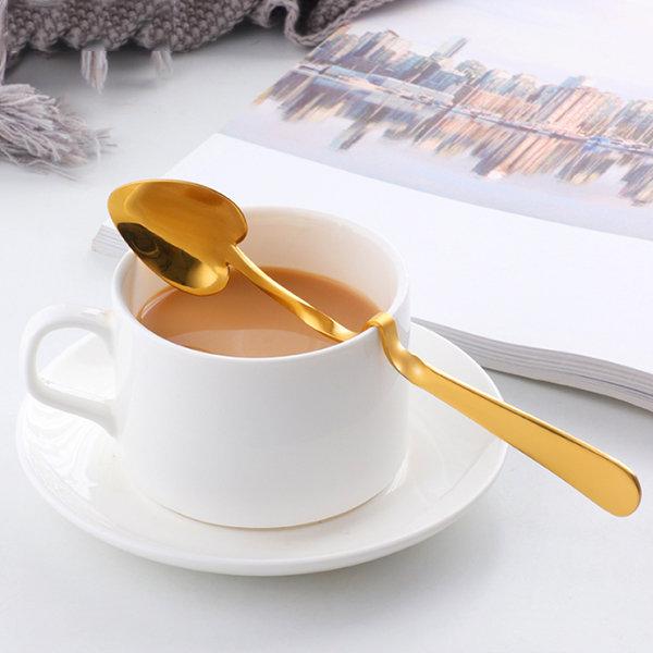 Heart-Shaped Coffee Spoons