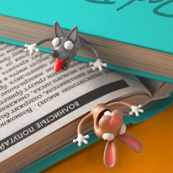 3D Animal Bookmark