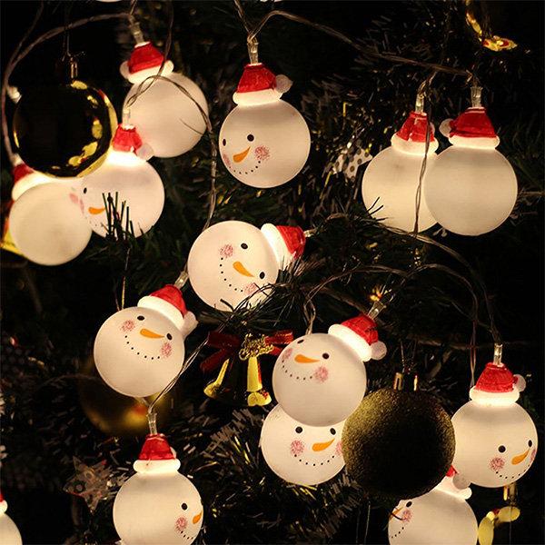 Snowman Fairy String Lights