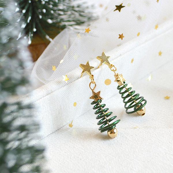 Christmas Tree Earrings From Apollo Box