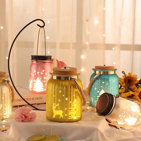 Glass Bottle String Light