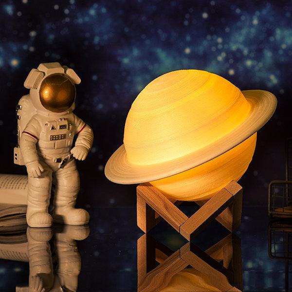 3D打印土星灯
