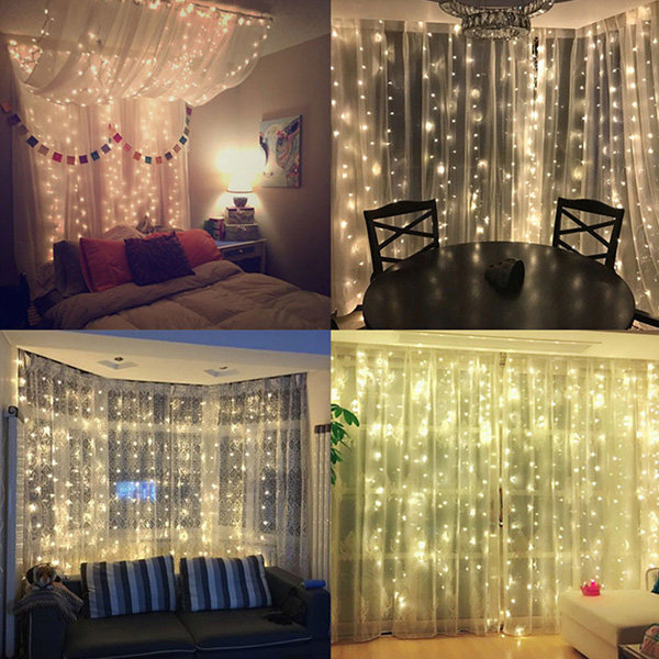 Christmas Led Lights Curtain From Apollo Box