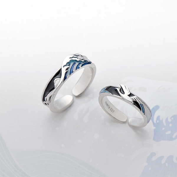 Ocean Couples Ring