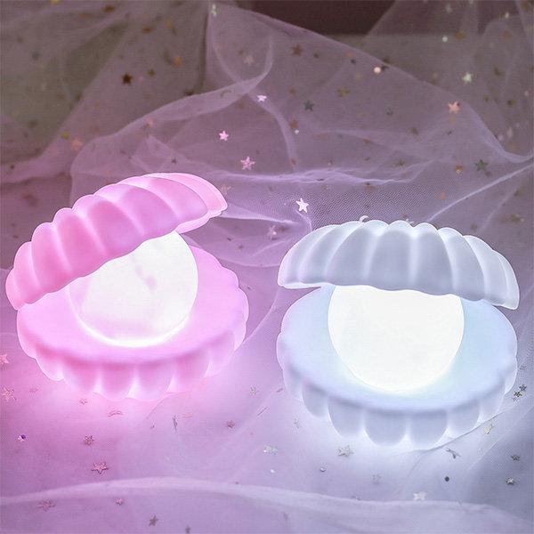 Shell Pearl Night Light