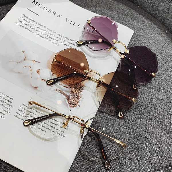 Faceted Octagon Sunglasses