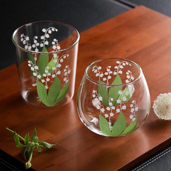Floral Drinkware