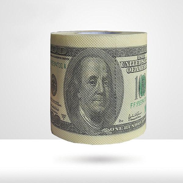6 Rolls Banknote Toilet Paper Roll