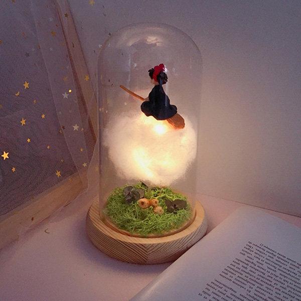 DIY Kiki Glass Dome Lamp