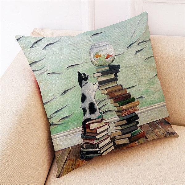 Cute Cat Pillowcases