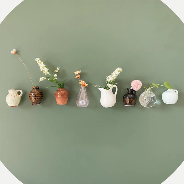 Mini Magnetic Vase (plants not included)