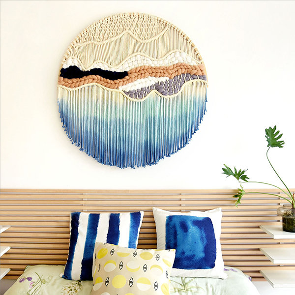Handwoven Nature Tapestry