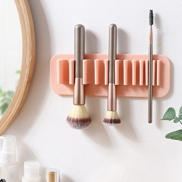 Wall Hanging Pencil Pen Holder Desktop Rack Makeup Brush Storage Box Stationery