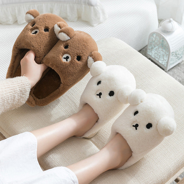 TPR Outsole Bear Slippers