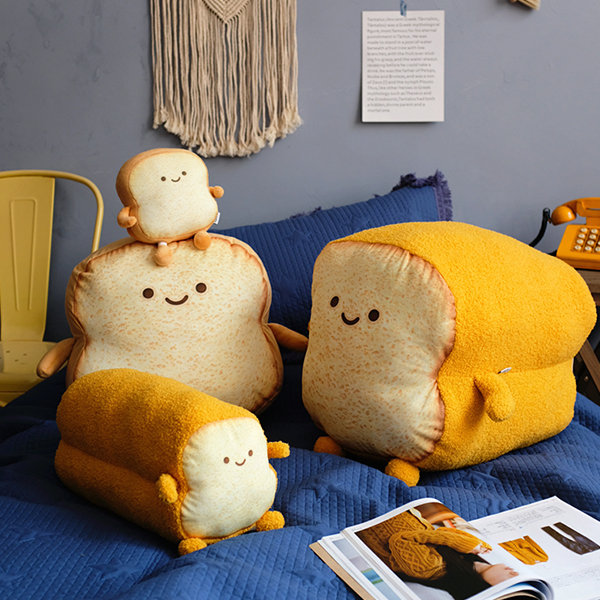 Toasted Bread Pillow