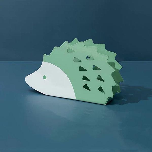 Handmade Ceramic Hedgehog Gift Organization Mail Holder Hedgehog Decor In Stock /& Ready to Ship! Hedgehog Sponge Holder Napkin Holder