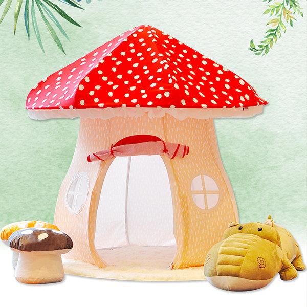 Pop-up Mushroom Play Tent