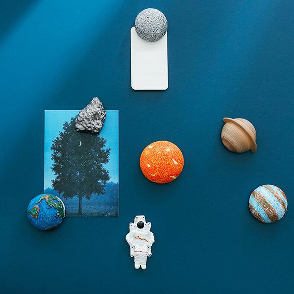 Planet Astronaut Fridge Magnet