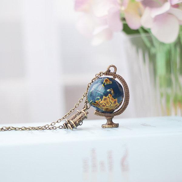 Globe Telescope Necklace