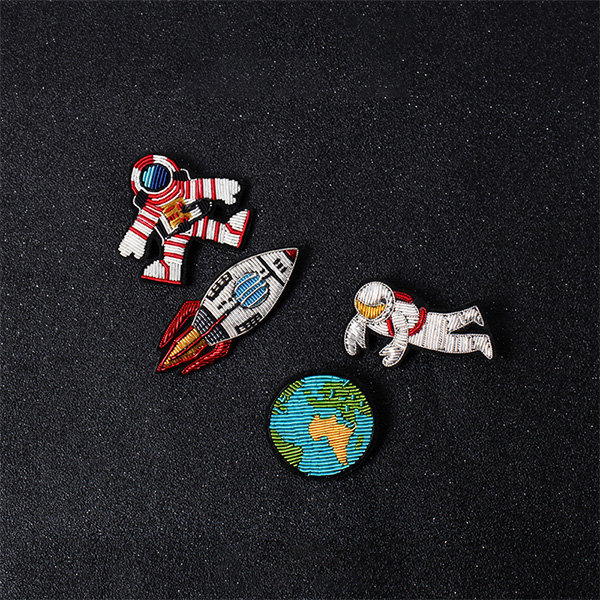 Space-Inspired Pin