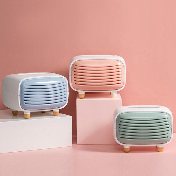 Retro-TV-Inspired Tissue Box