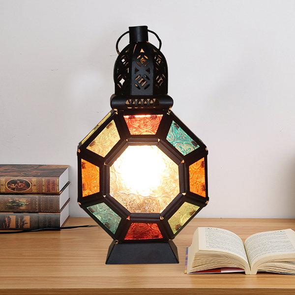 Retro-Inspired Industrial Table Lantern