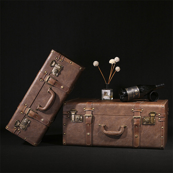 Vintage-Inspired Charming Suitcase