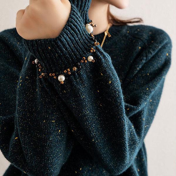 Cozy Night Sky Inspired Sweater