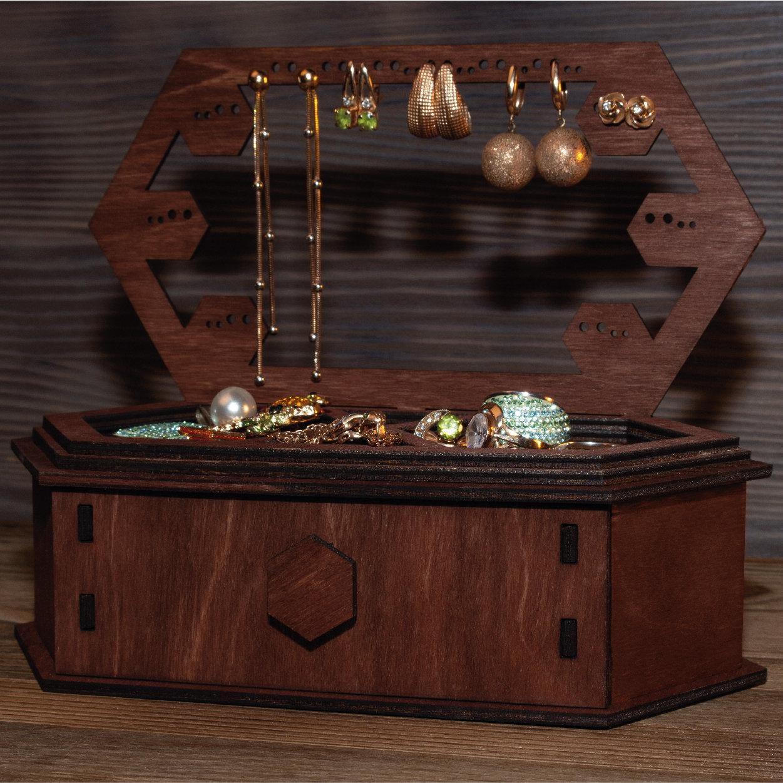 木制珠宝储藏室