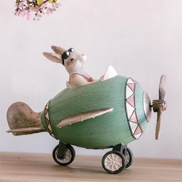 Adventure Bunny And Plane