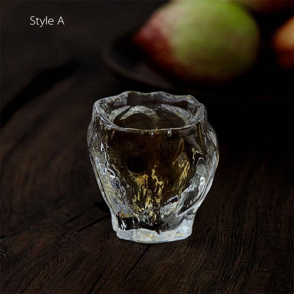 手工制作的玻璃茶杯