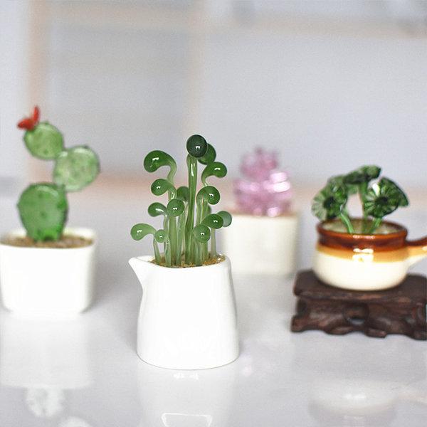 Charming Faux Succulents