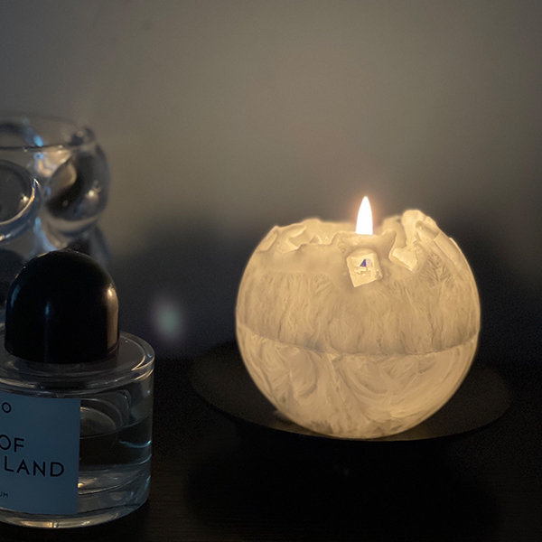 Customized Moon Light Scented Candle