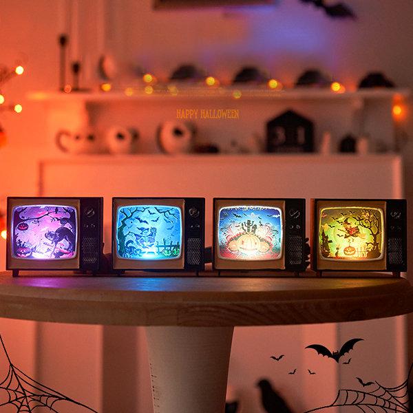 Halloween TV Inspired Lamp
