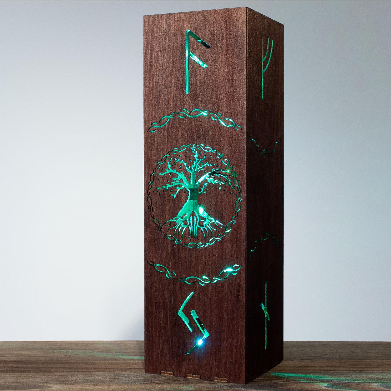 Yggdrasil Tree Night Lamp | Tree Of Life Shadow Lamp